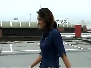 Japanesegirl toy car crush
