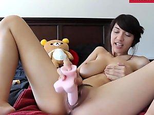 Busty Asian Teen Wet Pussy Masturbation - www.GirlsHaving.fun