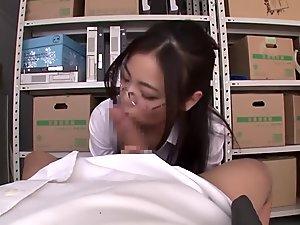 Fabulous Japanese slut in Best POV, Fetish JAV scene