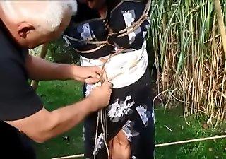 Shibari japanese rope bondage tutorial